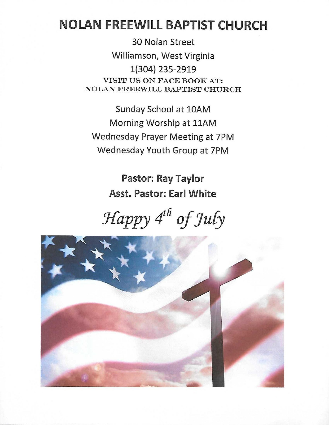 Nolan FWB Newsletter - July 17 Pages 1 - 11 - Text Version