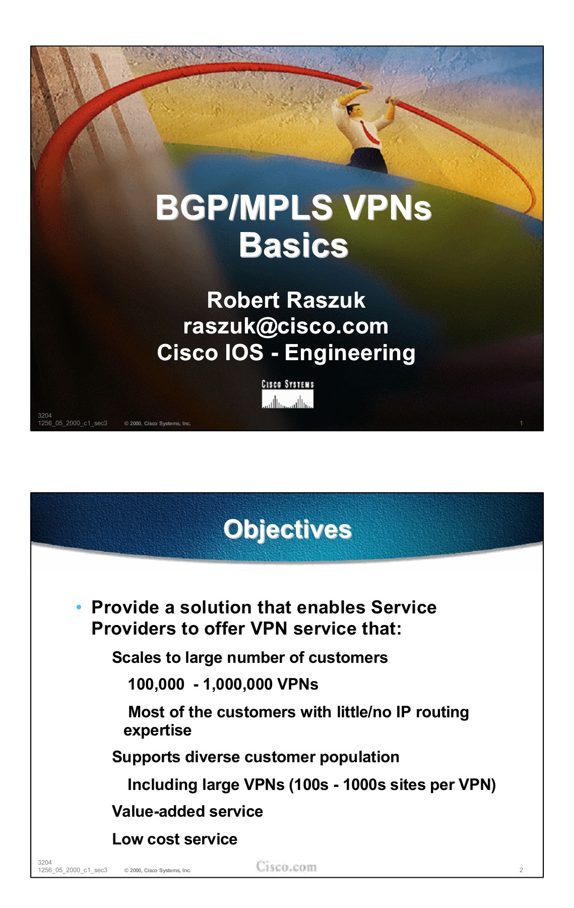 BGP/MPLS VPNs Basics - Cisco Systems, Inc
