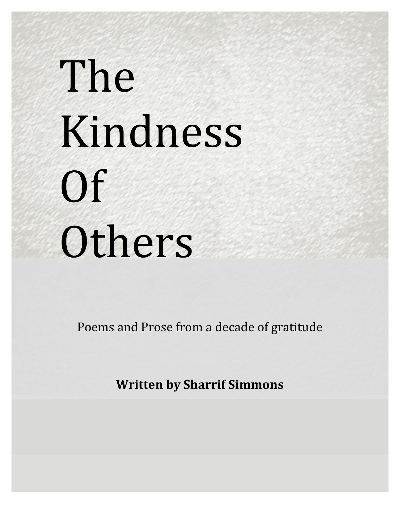 THE KINDNESS First Draft AUGUST Pages 1 - 50 - Text Version | AnyFlip