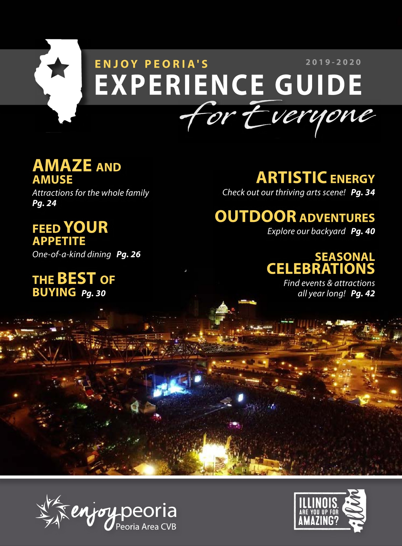 Lewistown Fair 2020.2019 2020 Enjoy Peoria Experience Guide Pages 1 50 Text