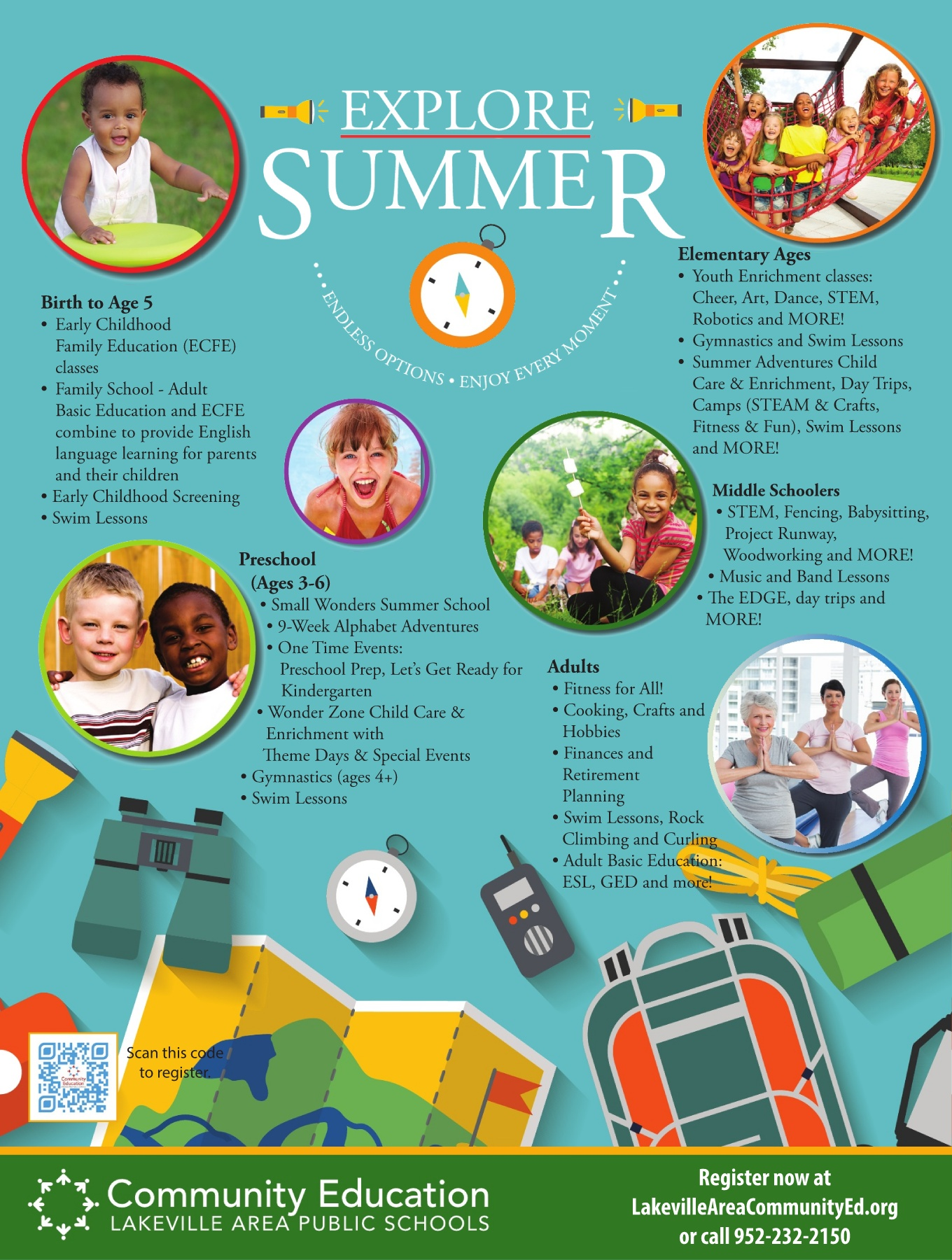 Lakeville CE Spring Summer 2018 Catalog Pages 1