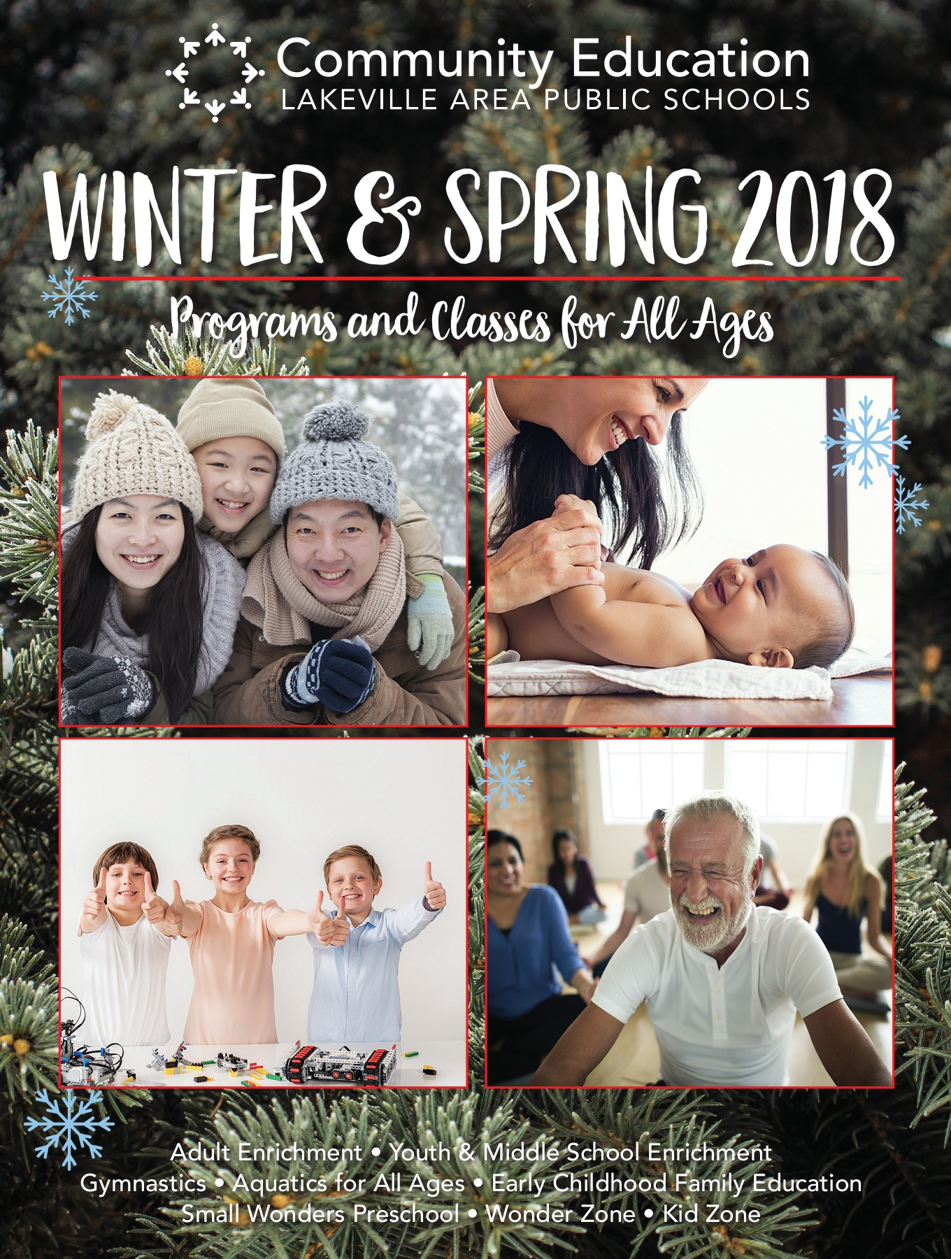 Lakeville Area Community Education Winter Spring 2018 Catalog