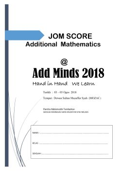 Additional Mathematics Module Pages 1 - 50 - Text Version | AnyFlip