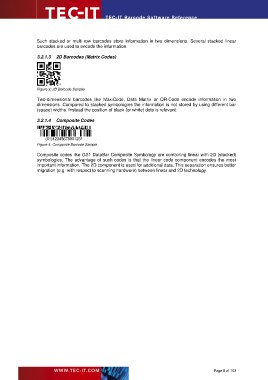Page 8 - TEC-IT Barcode Software