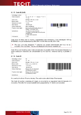 Page 27 - TEC-IT Barcode Software