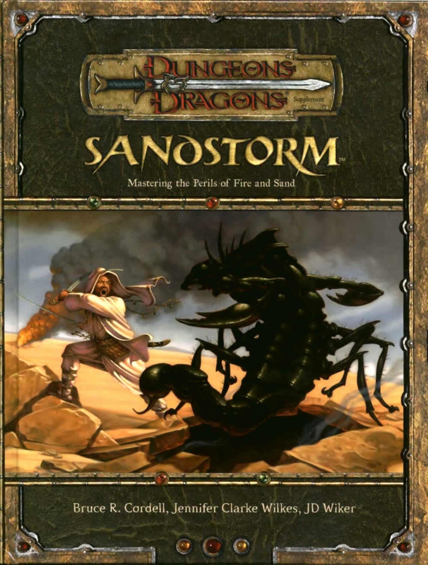 D D 3 5 Sandstorm Mastering The Perils Of Fire And Sand Oef
