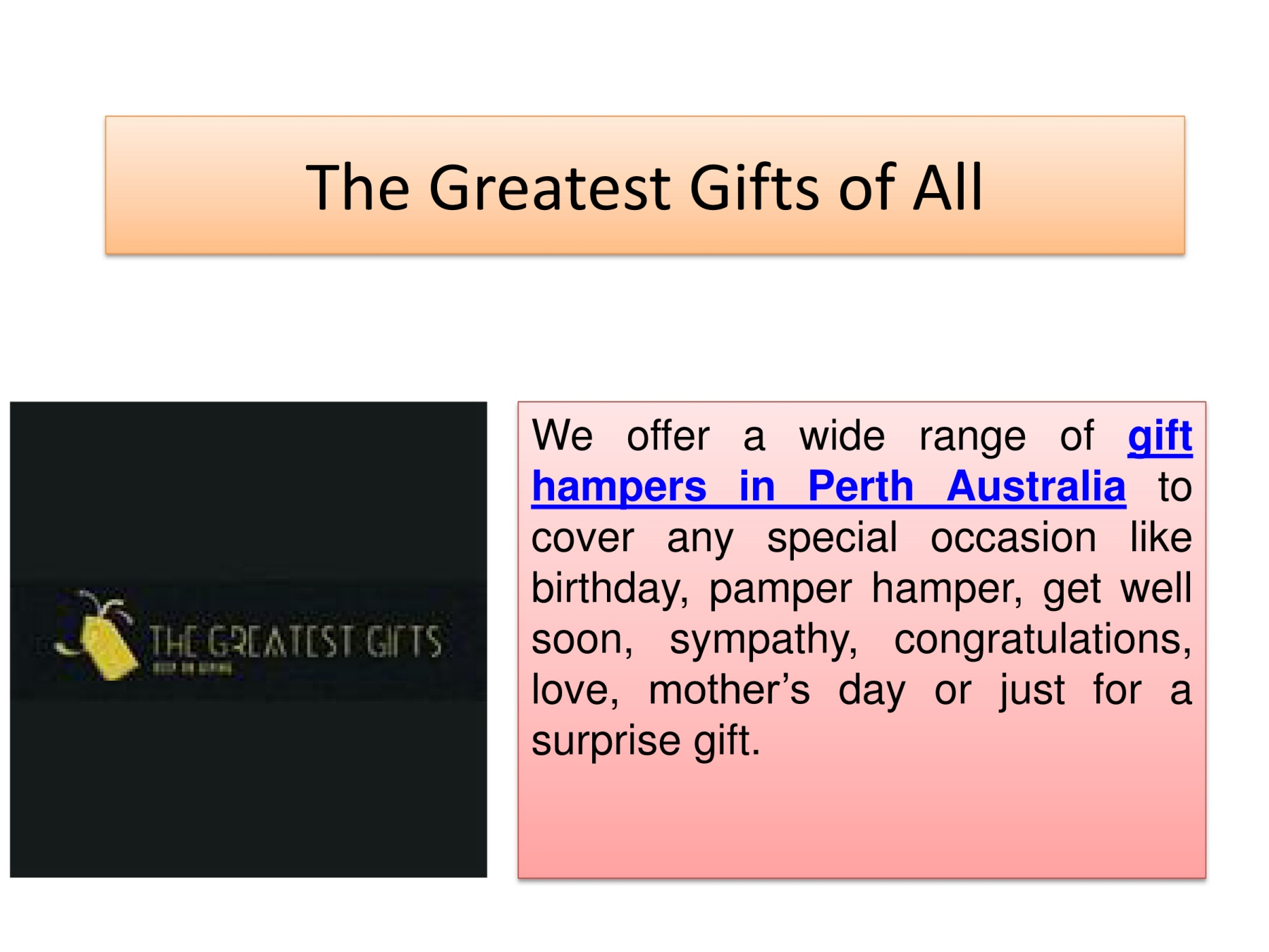 Gift Hampers Perth Australia Pages 1