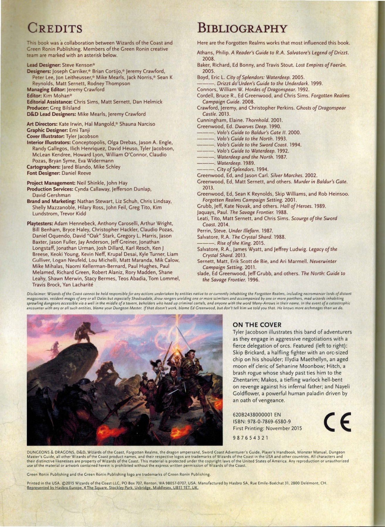 Sword Coast Adventurer S Guide Pdf Pages 101 150 Text Version