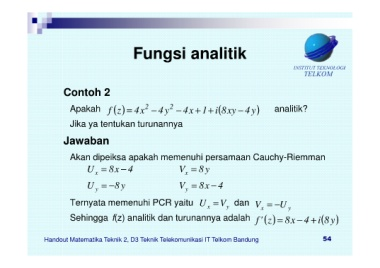 Page 54 Hand Out Fungsi Kompleks Neat