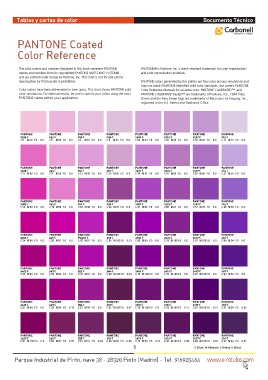 Page 5 - Carta Pantone Coated - Referencia  CDR