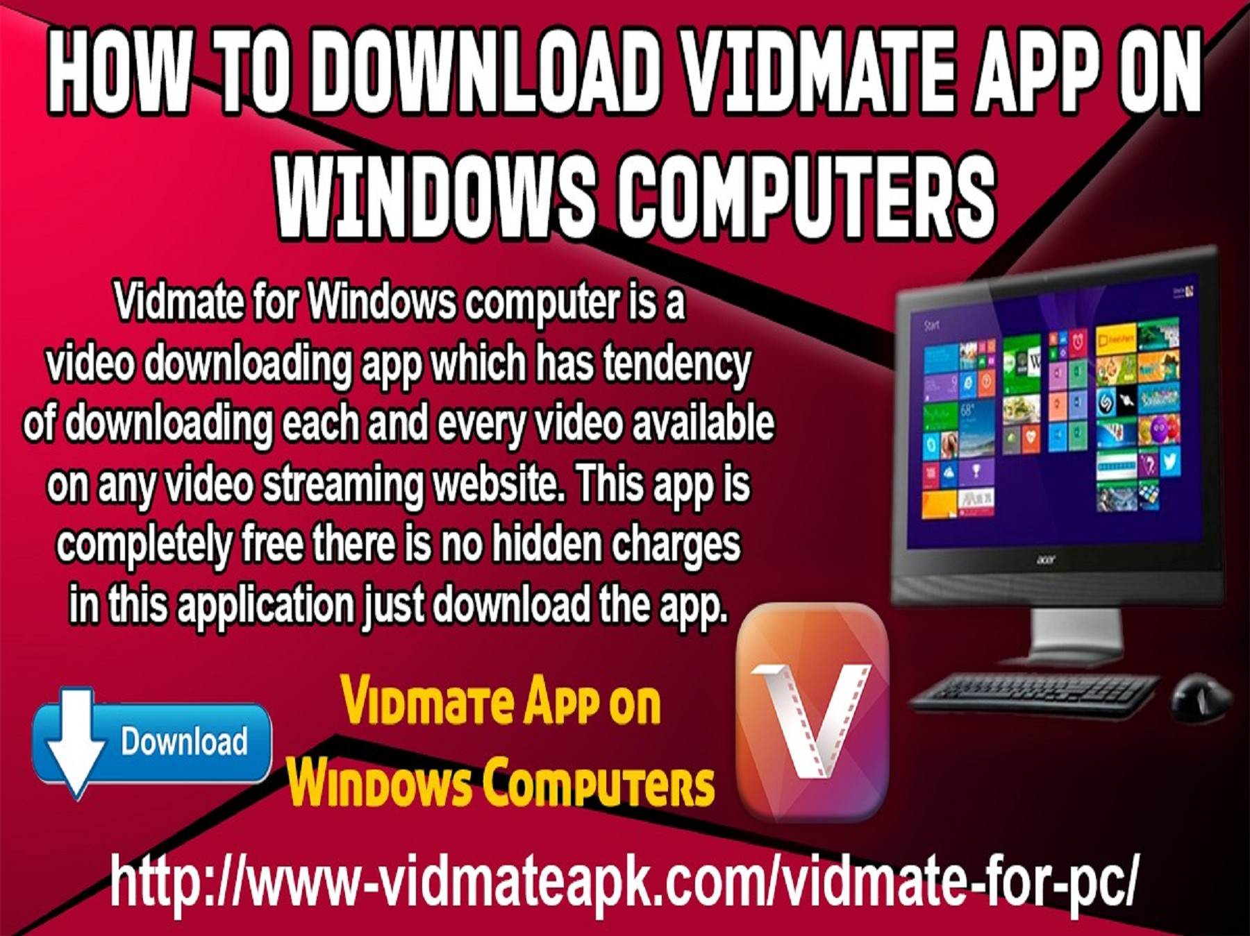 How To Download Vidmate App on Windows Computers