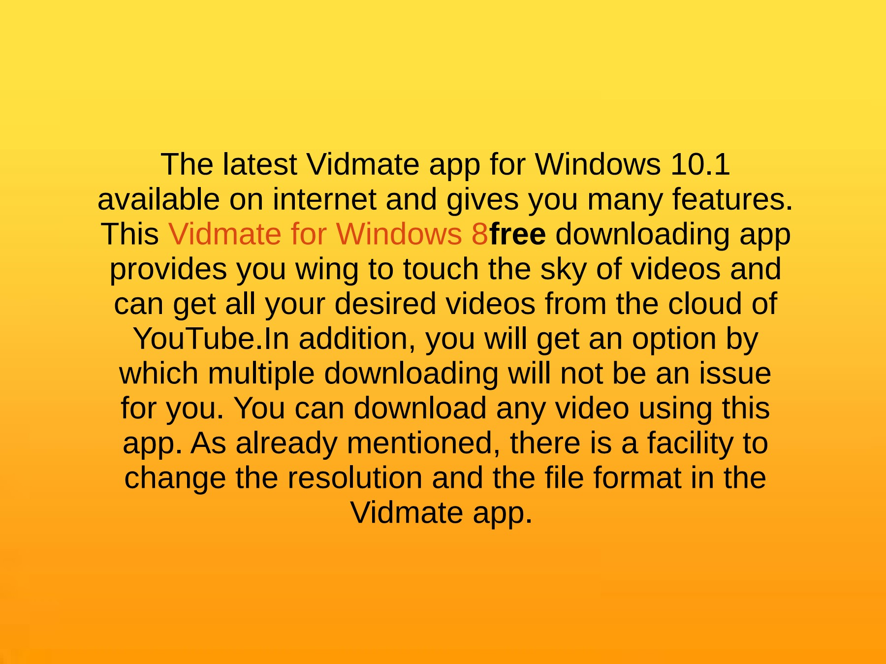 How To Download and install Vidmate App on Windows Computer Pages 1