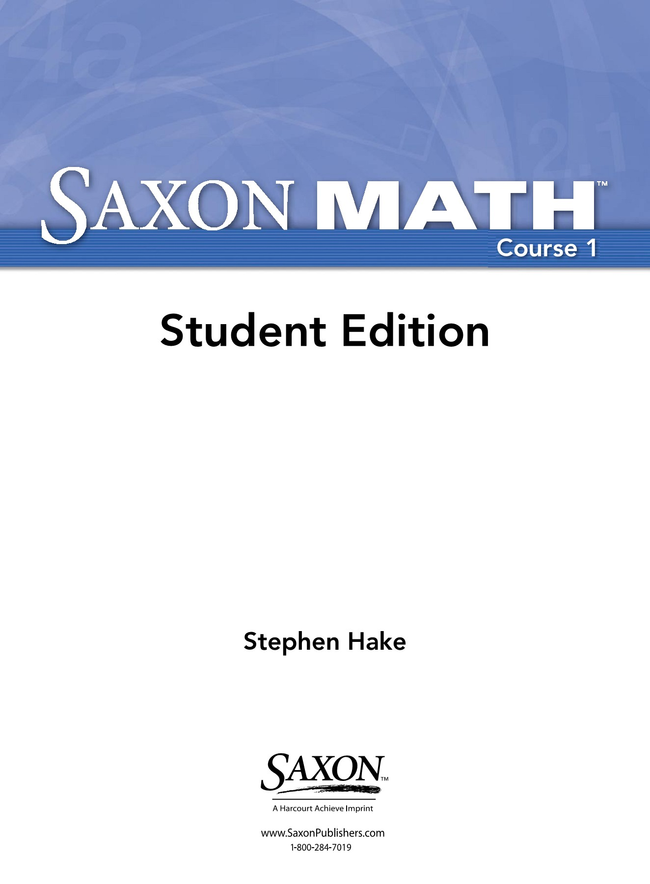 Saxon Math Ebook
