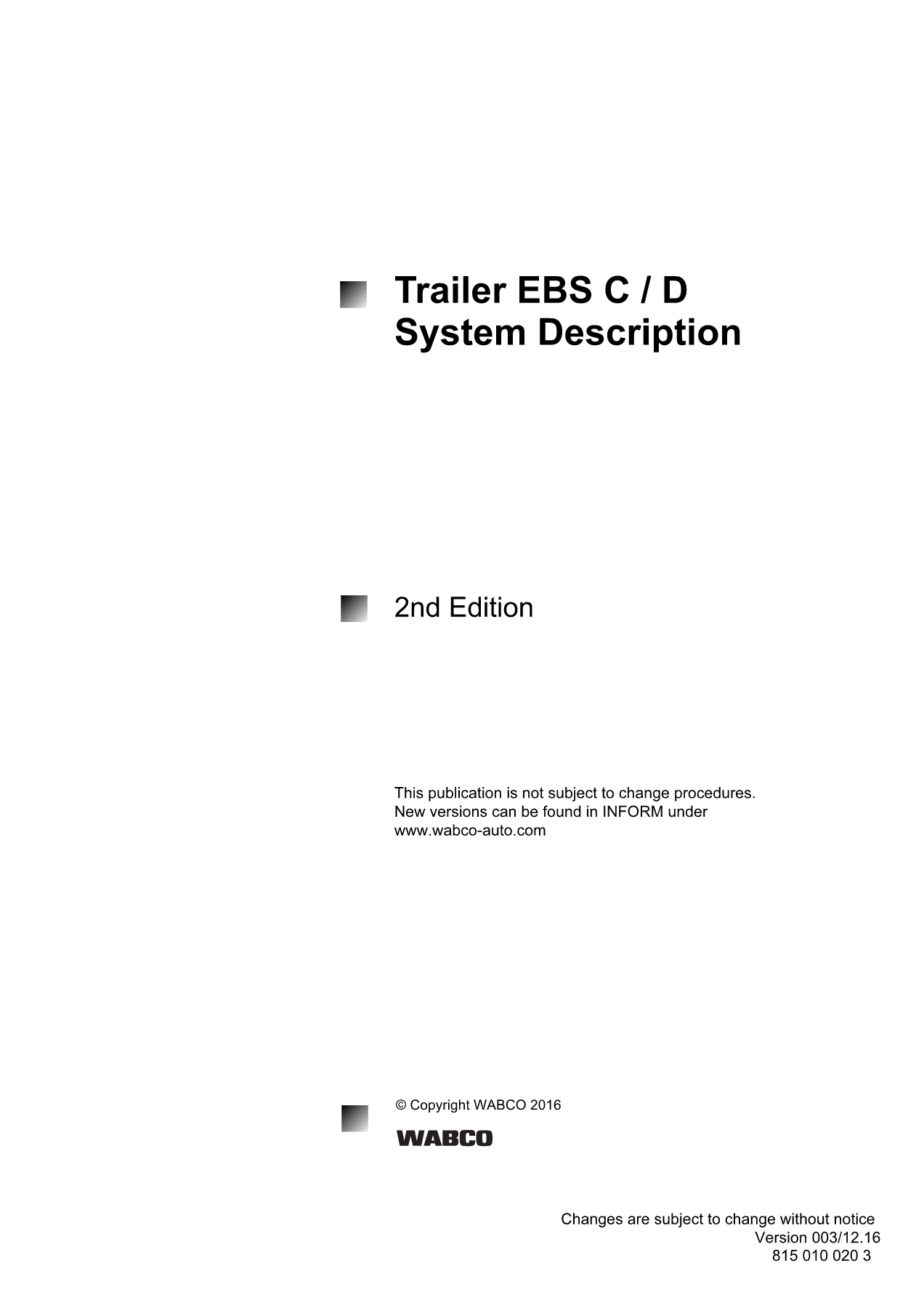 Wabco EBS Catalog Pages 51 - 80 - Text Version | AnyFlip on