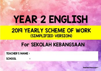 ENGLISH Year 2 Syllabus Pages 1 - 27 - Text Version | AnyFlip