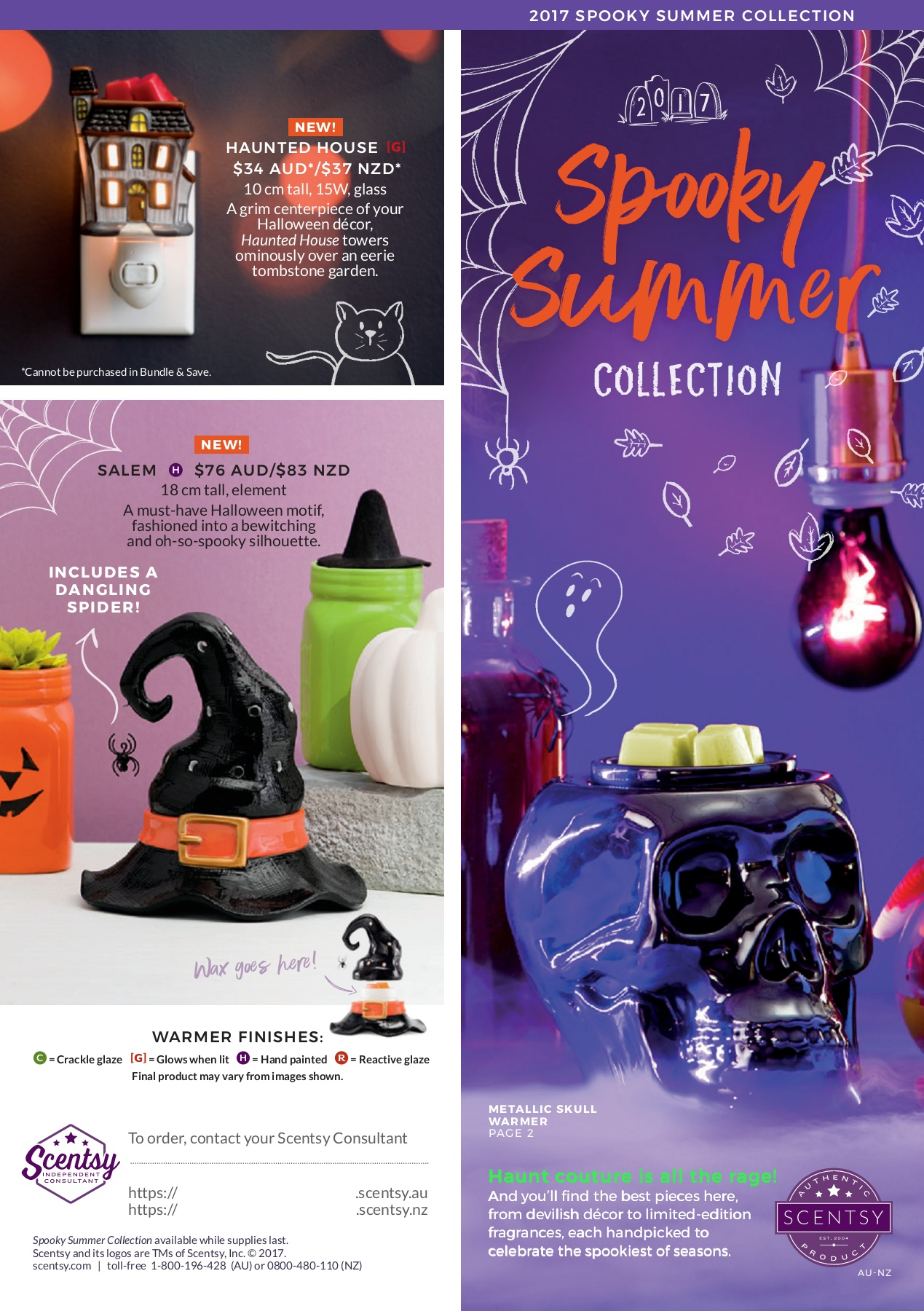 2017 Scentsy Halloween Brochure Pages 1 2 Text Version Anyflip