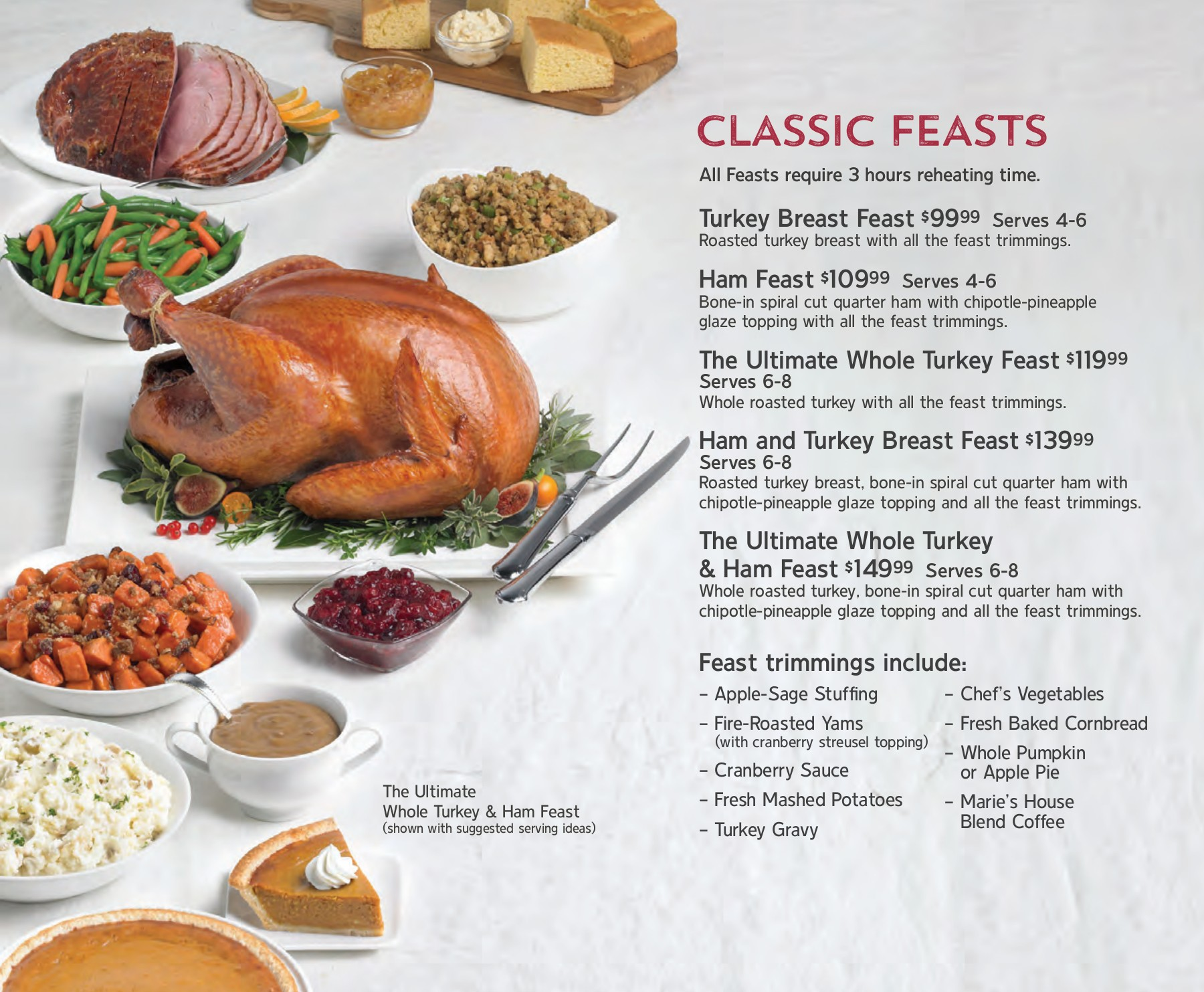 Enjoy Christmas Dinner with Us - Marie Callender\'s Pages 1 - 6 ...