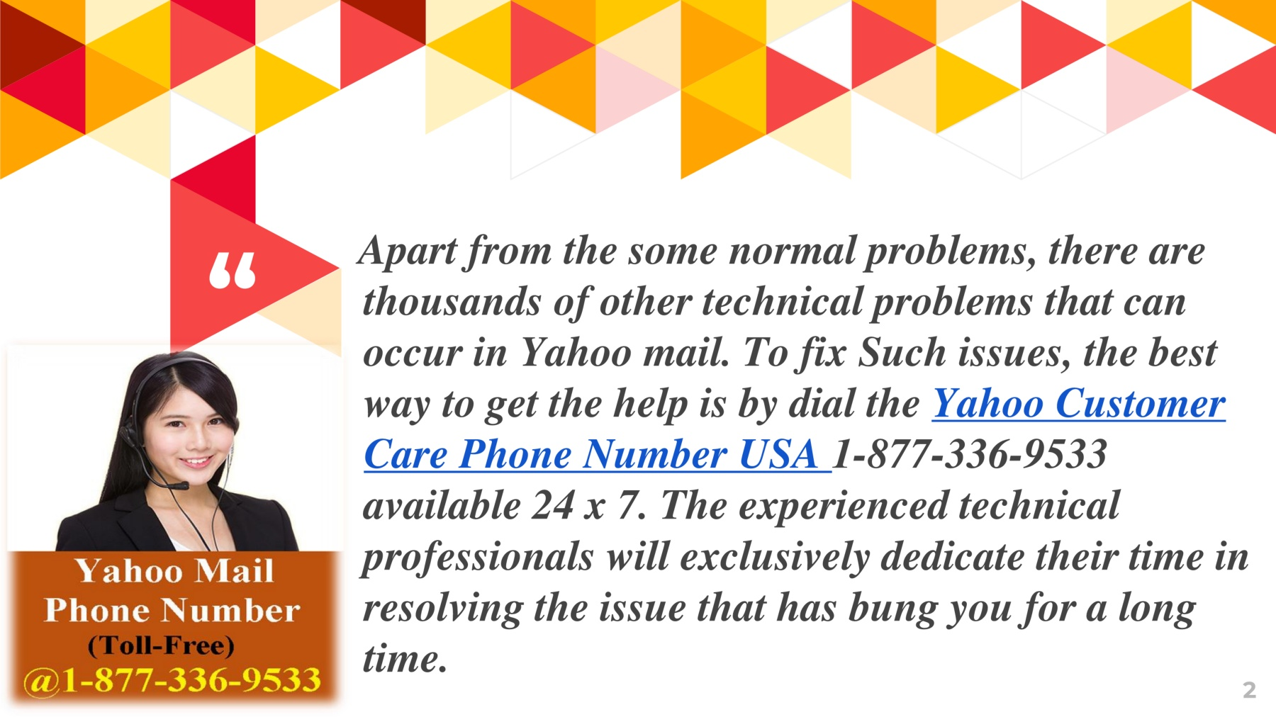 Yahoo Technical Support Phone Number Usa 1 877 336 9533 Pages 4 Text Version Anyflip