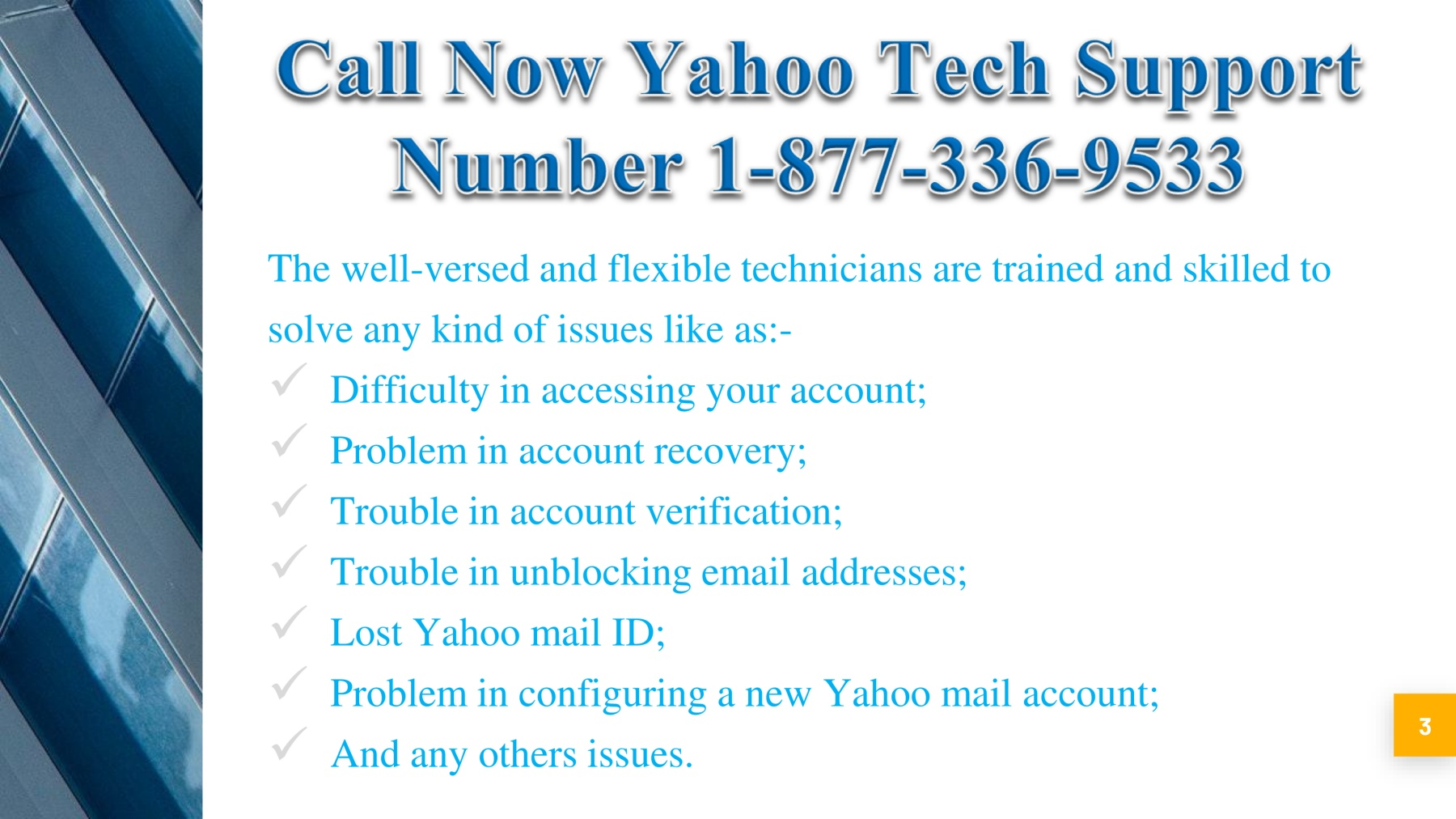 Contact Now 1 877 336 9533 Yahoo Phone Number Usa Pages 4 Text Version Anyflip