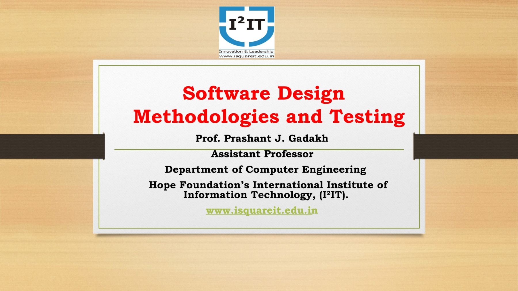 Software Design Methodologies And Testing Department Of Computer Engineering Pages 1 31 Text Version Anyflip
