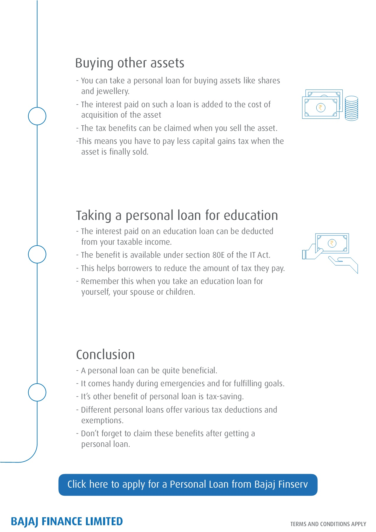 How can a loan be beneficial to the buyer
