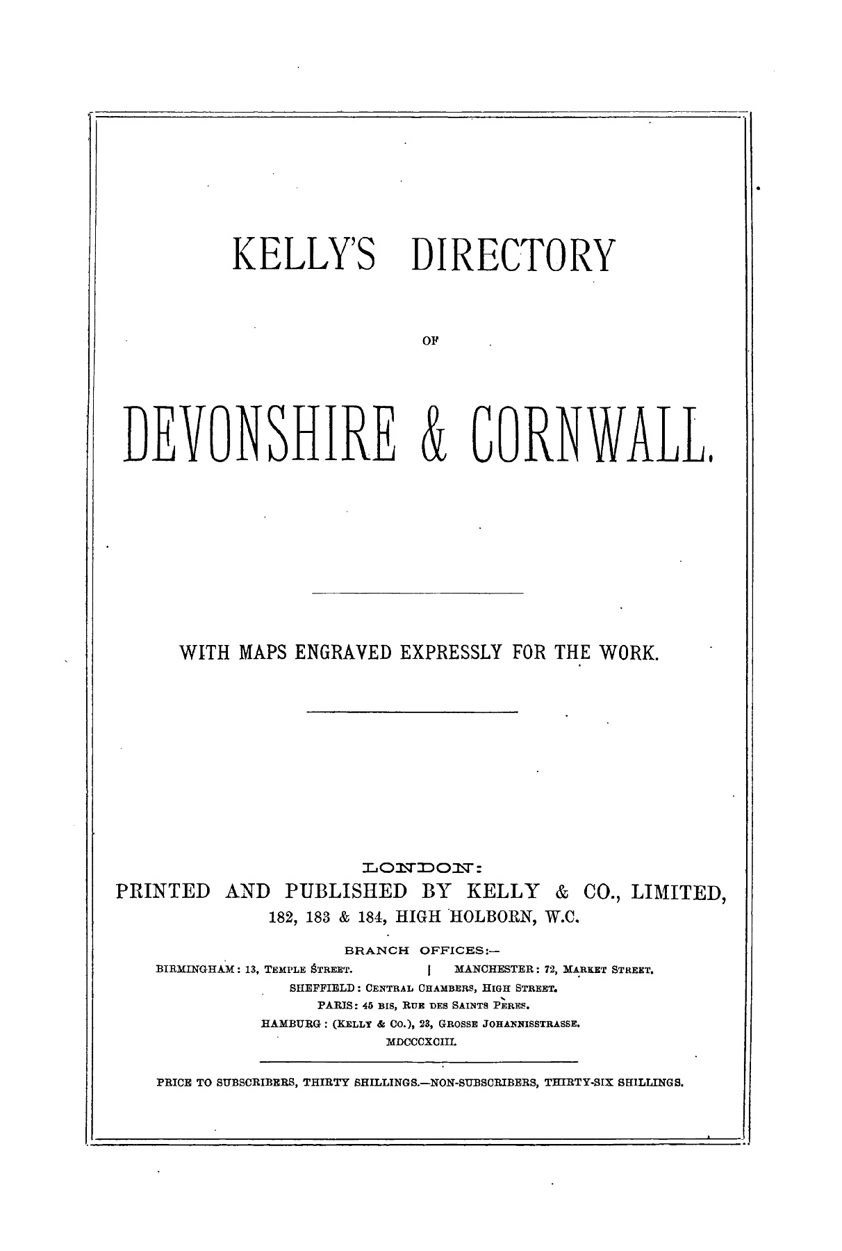 CORNWALL - 1893 Pages 251 - 300 - Text Version | AnyFlip