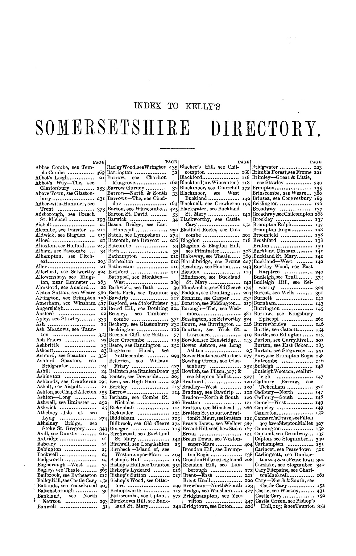 053dff3ba5f454 SOMERSETSHIRE - 1889 Pages 351 - 400 - Text Version