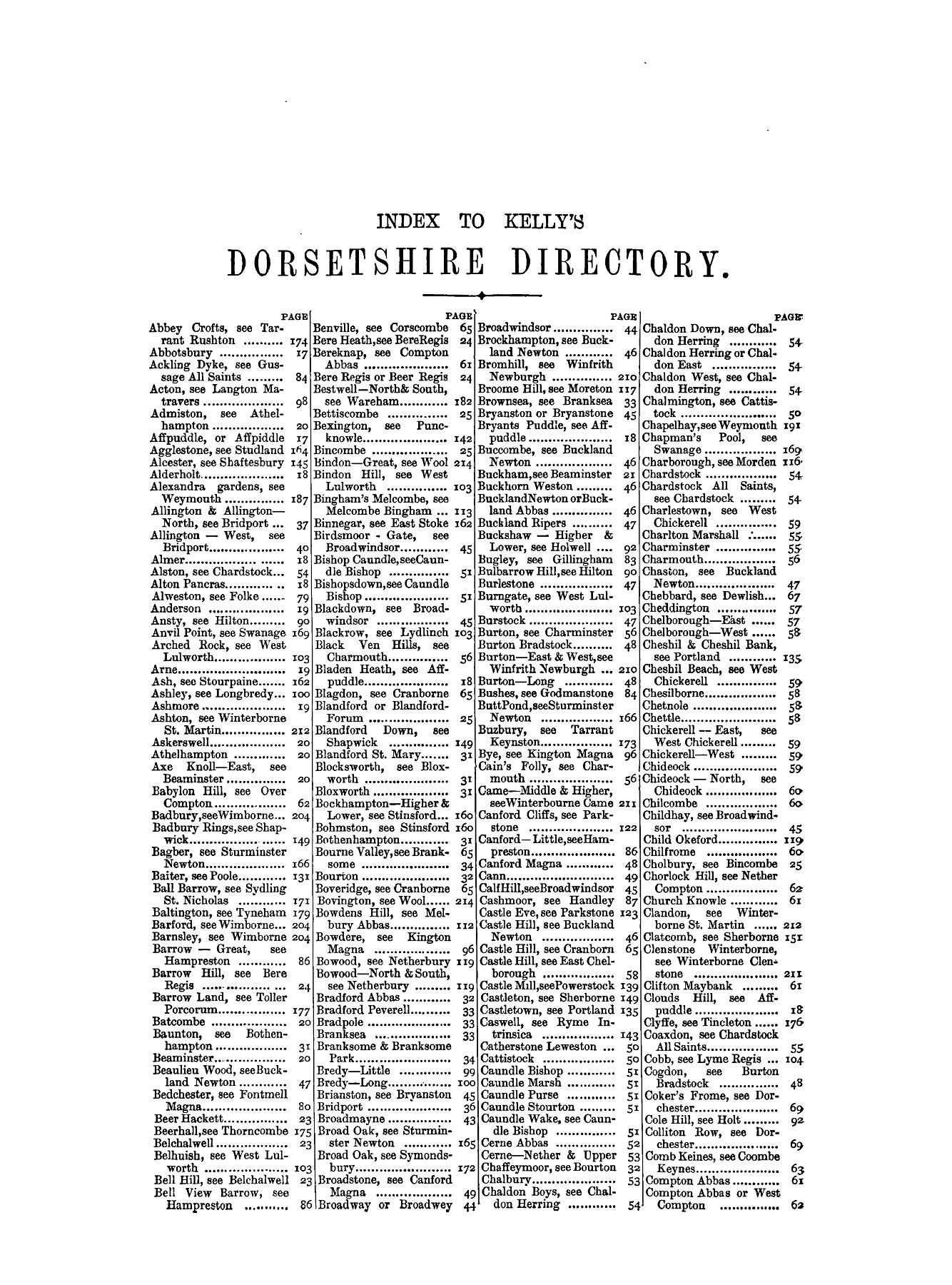 DORSETSHIRE - 1895 Pages 51 - 100 - Text Version | AnyFlip