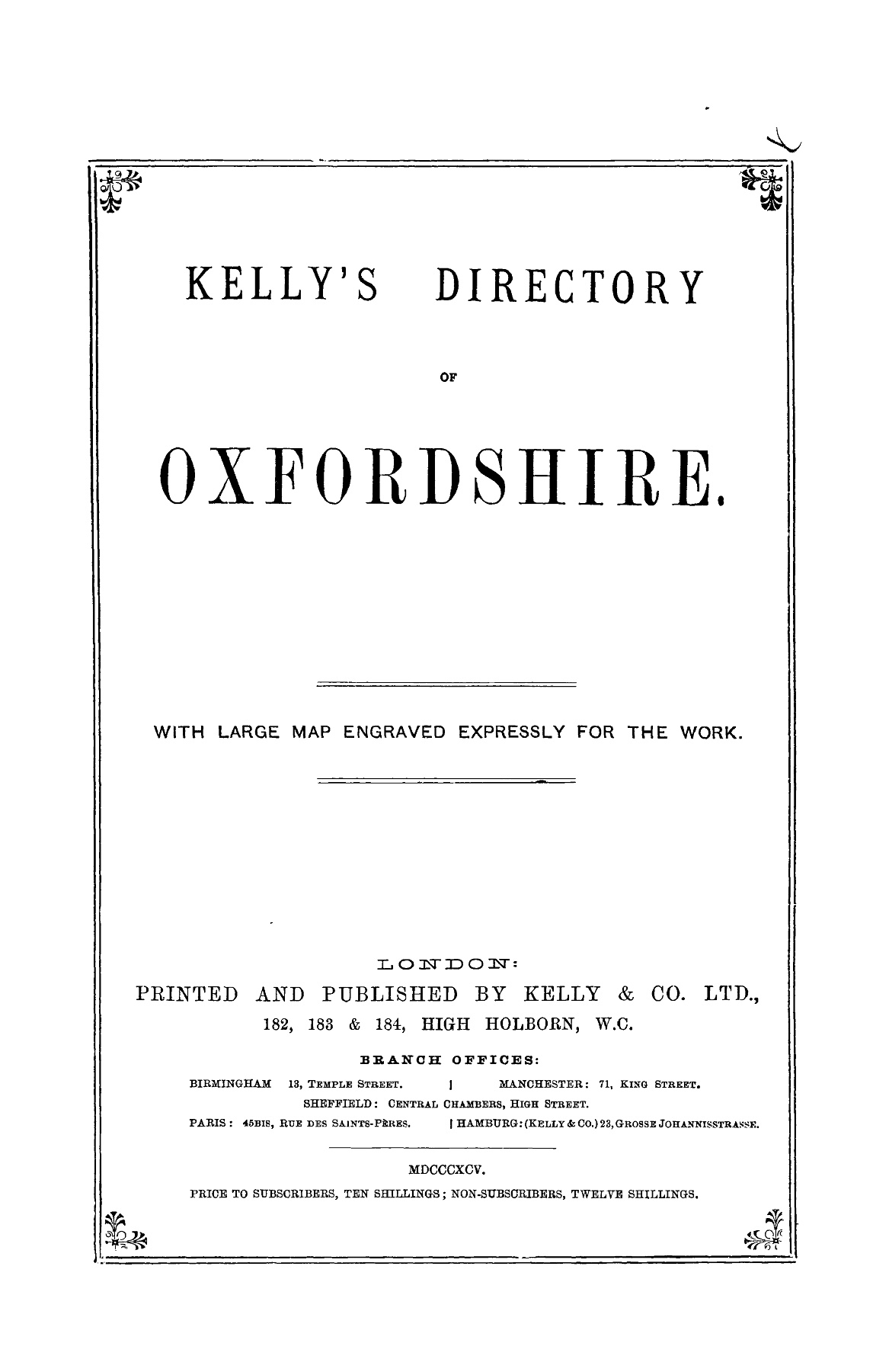 OXFORDSHIRE - 1895 Pages 51 - 100 - Text Version | AnyFlip
