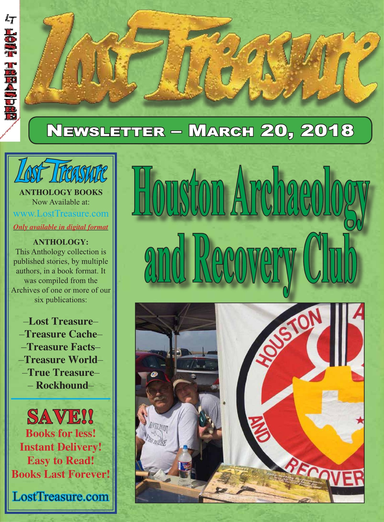 LOST TREASURE - MARCH 2018 Pages 1 - 30 - Text Version | AnyFlip