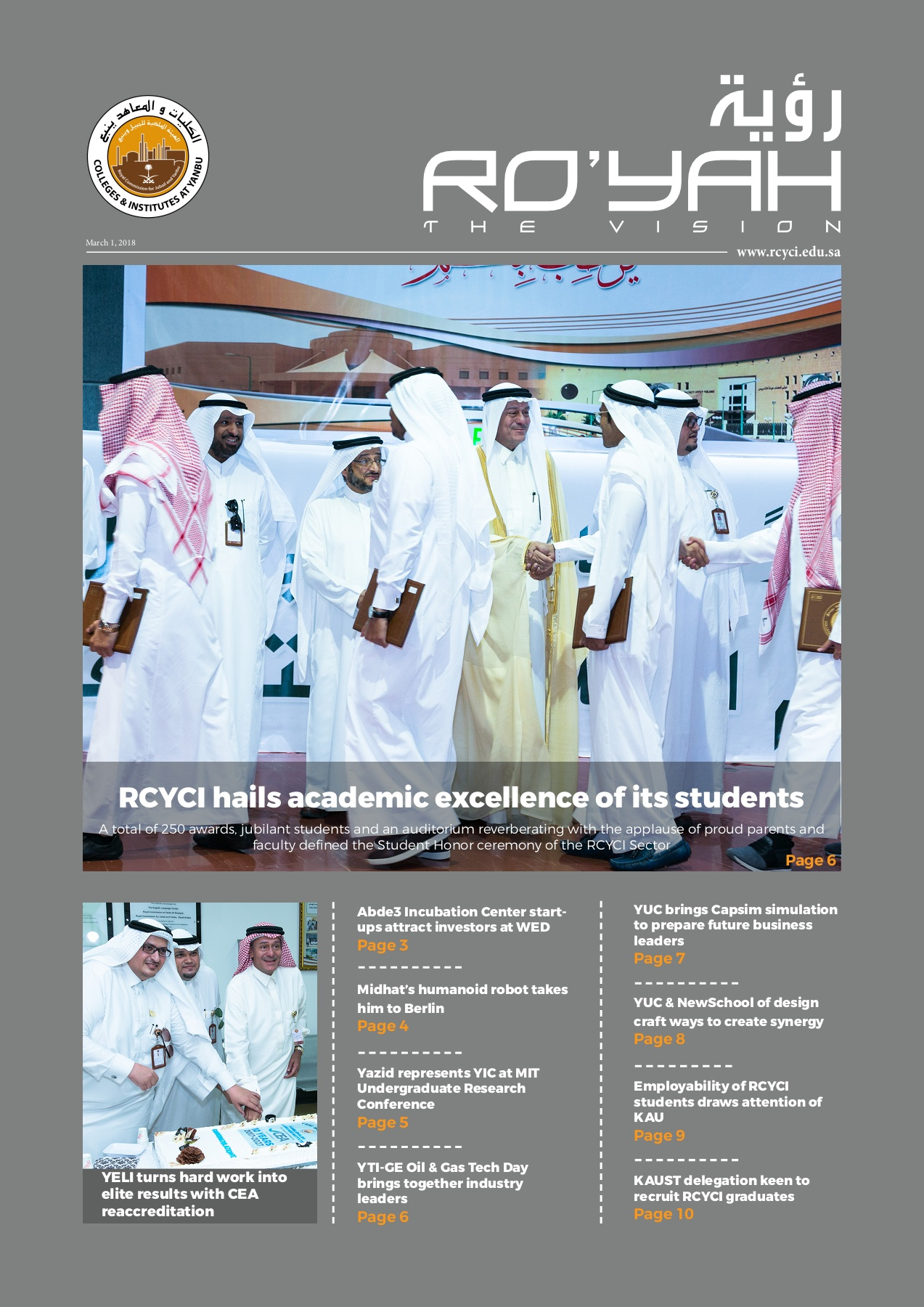 Issue 10 A3 Final Draft February 2018 - pages Pages 1 - 30