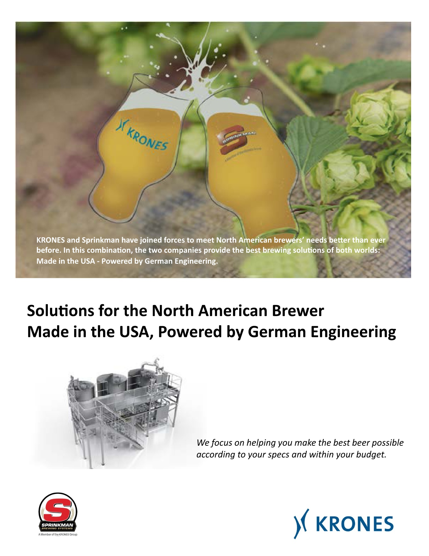 Made in the USA - Powered By German Engineering