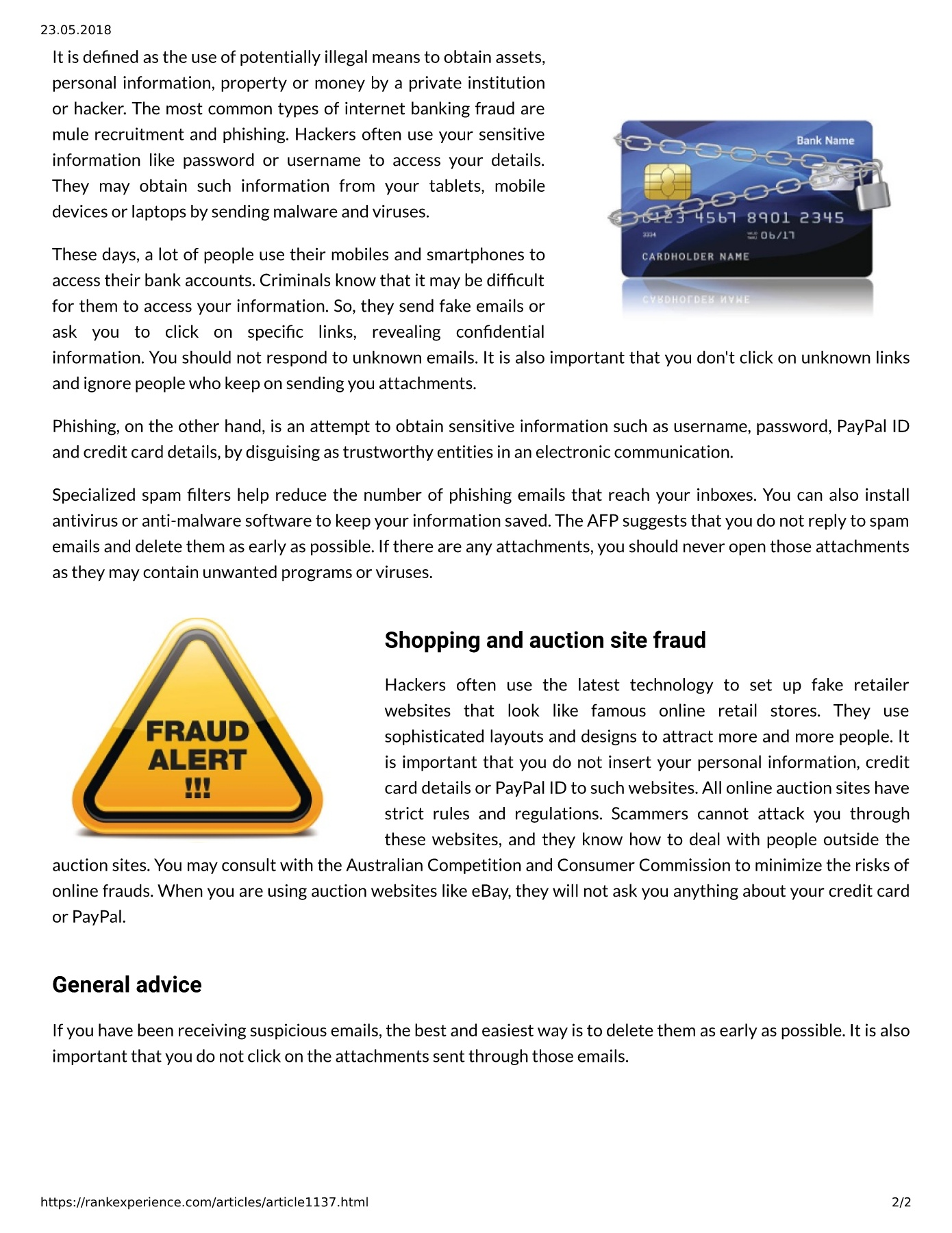 Semalt Expert Assures That You Need To Learn About Online Frauds And