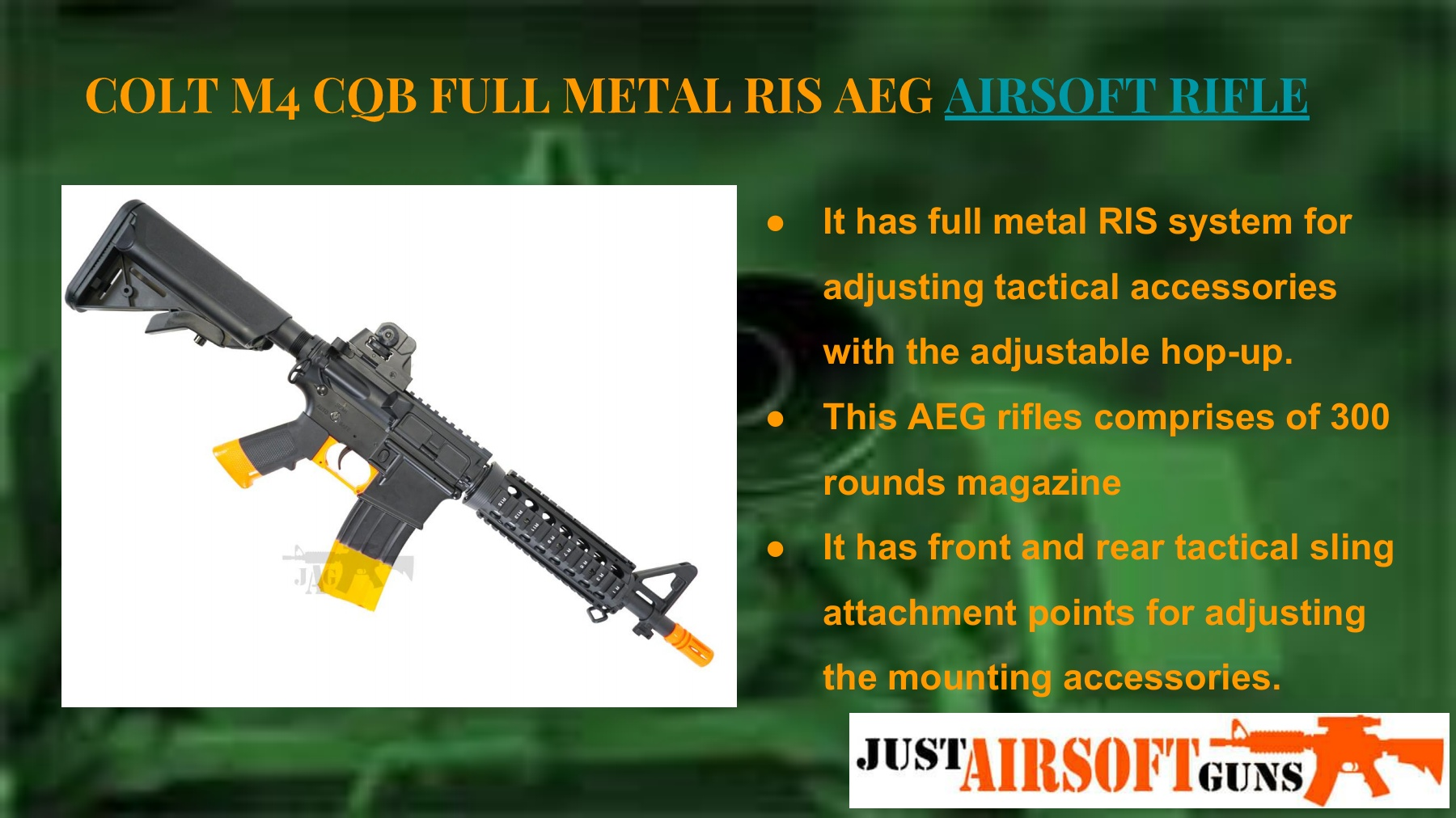 High End Airsoft Guns Pages 1 - 6 - Text Version | AnyFlip