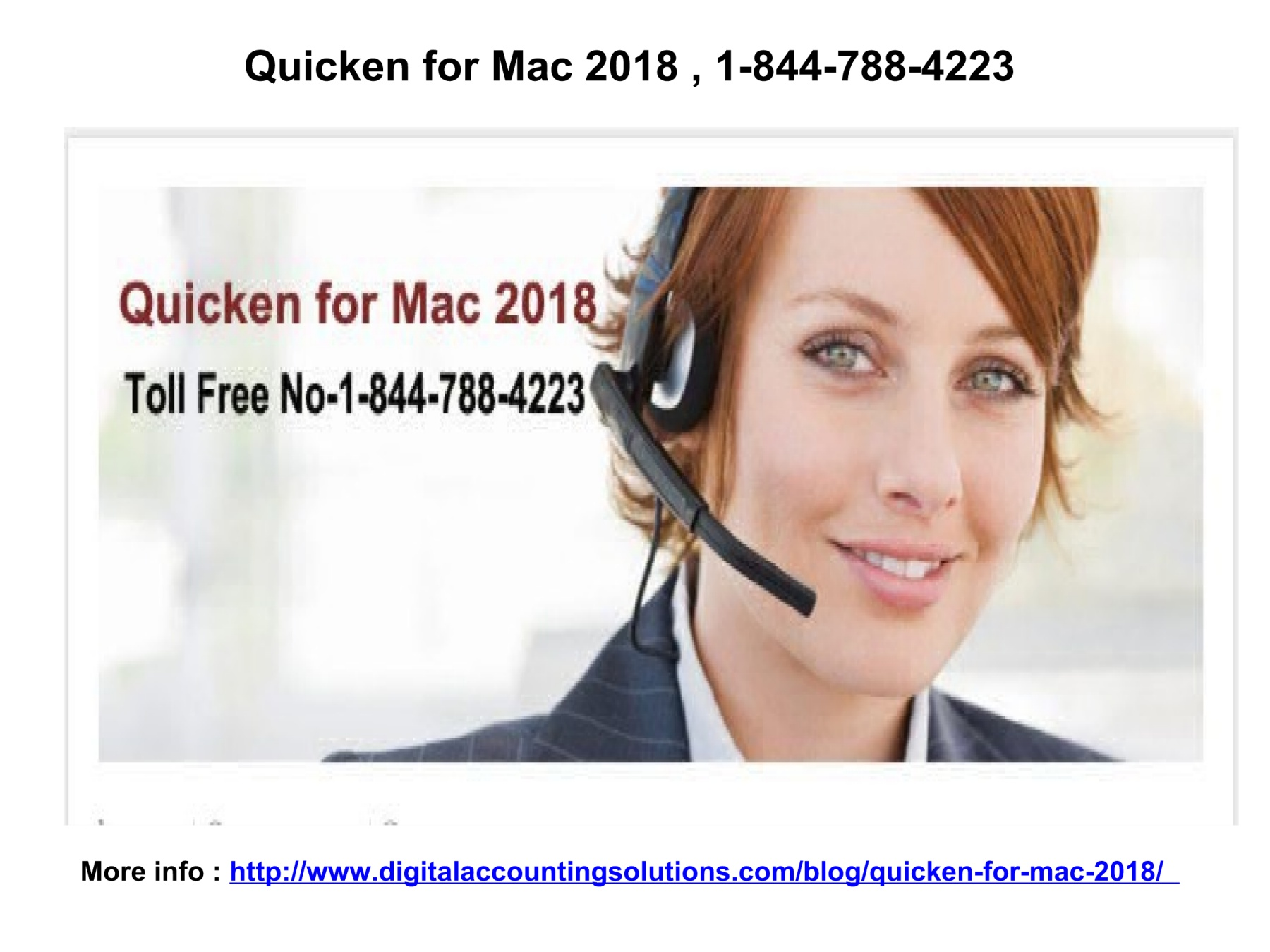 Quicken for Mac 2018 , 1-844-788-4223