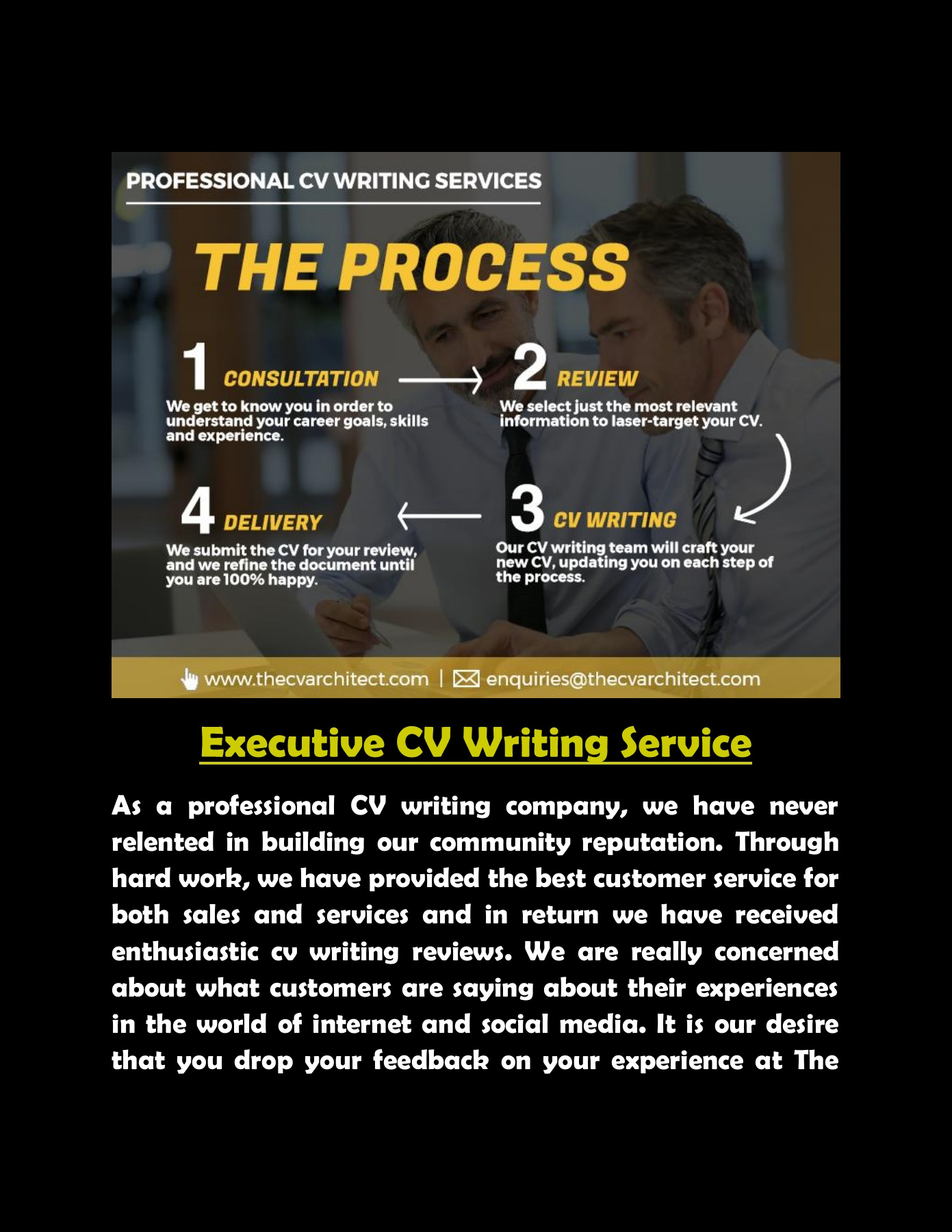 The Best UK CV Writing Services in 2019
