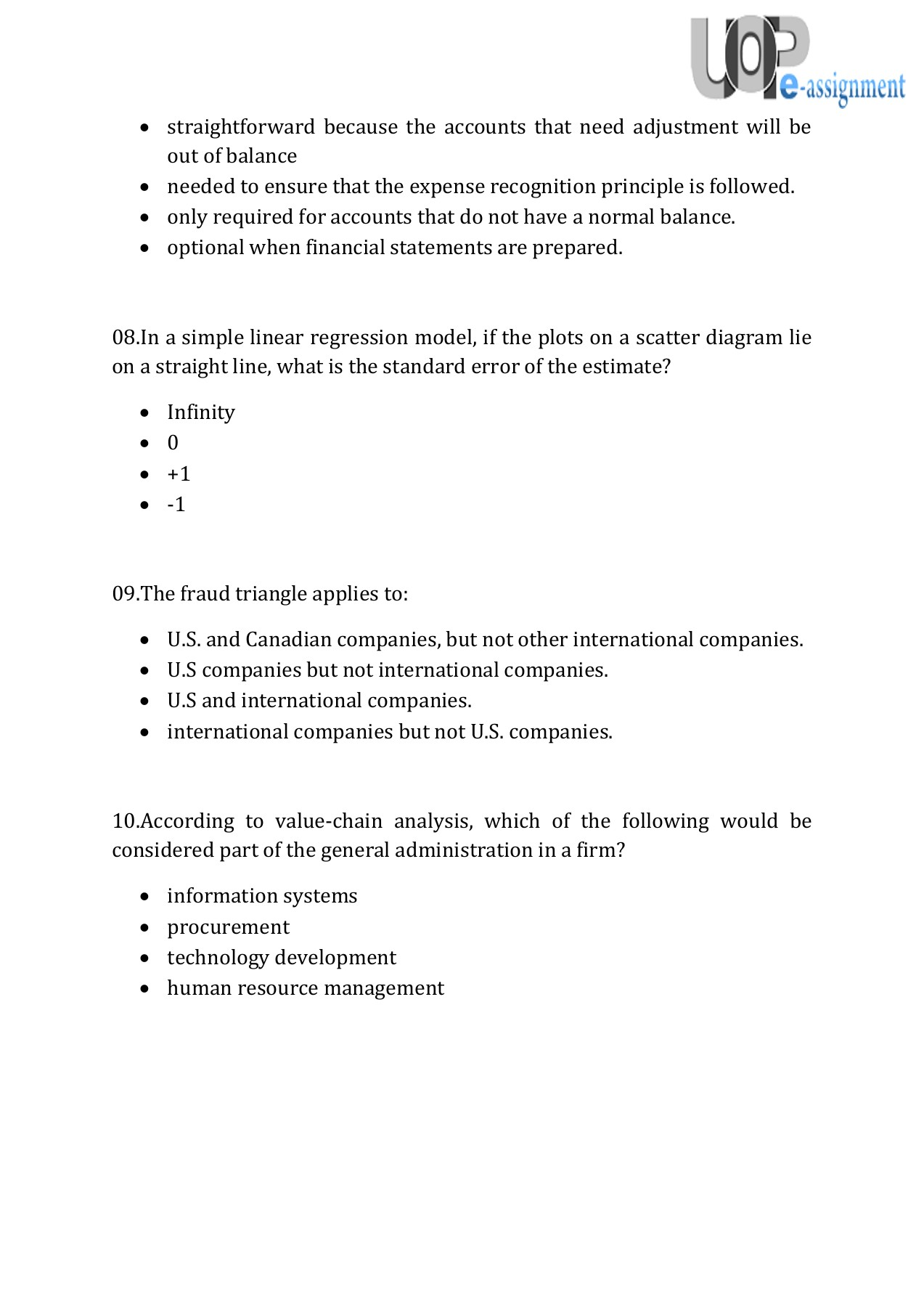 475/BUS Capstone Part 2 Final Exam - Questions & Answers