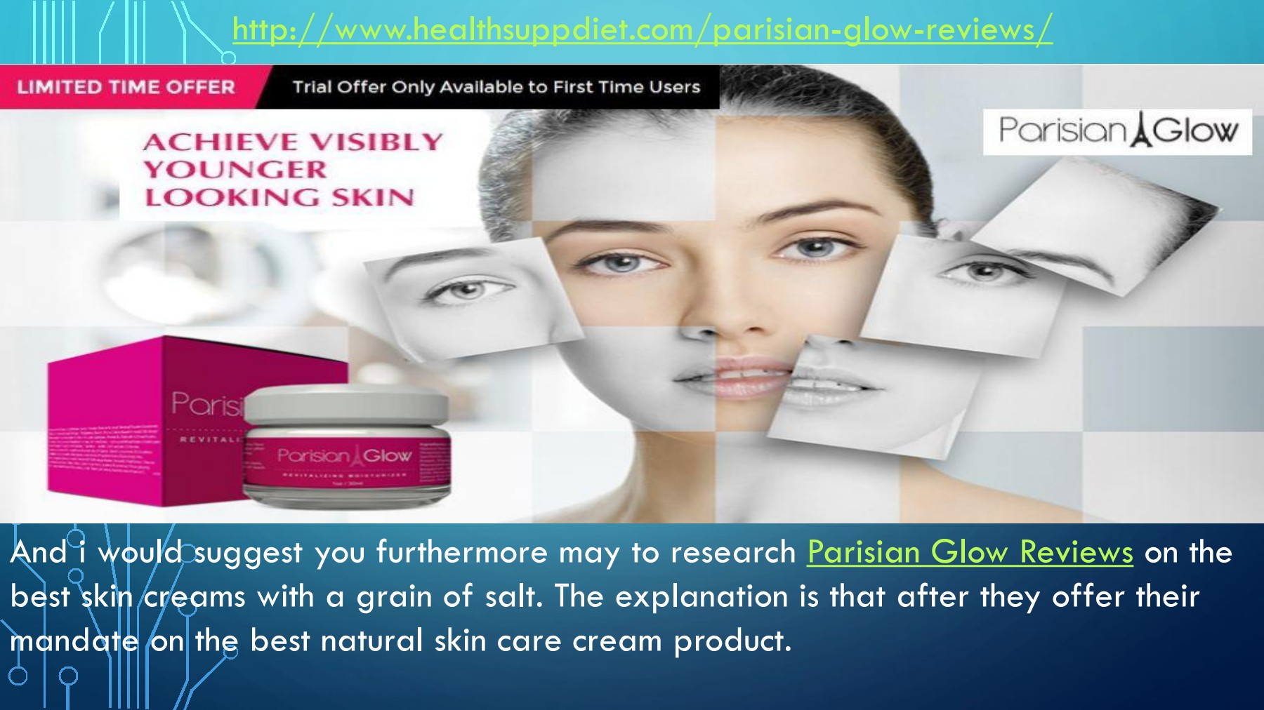 Parisian Glow Skin >> Http Www Healthsuppdiet Com Parisian Glow Reviews Pages 1 4