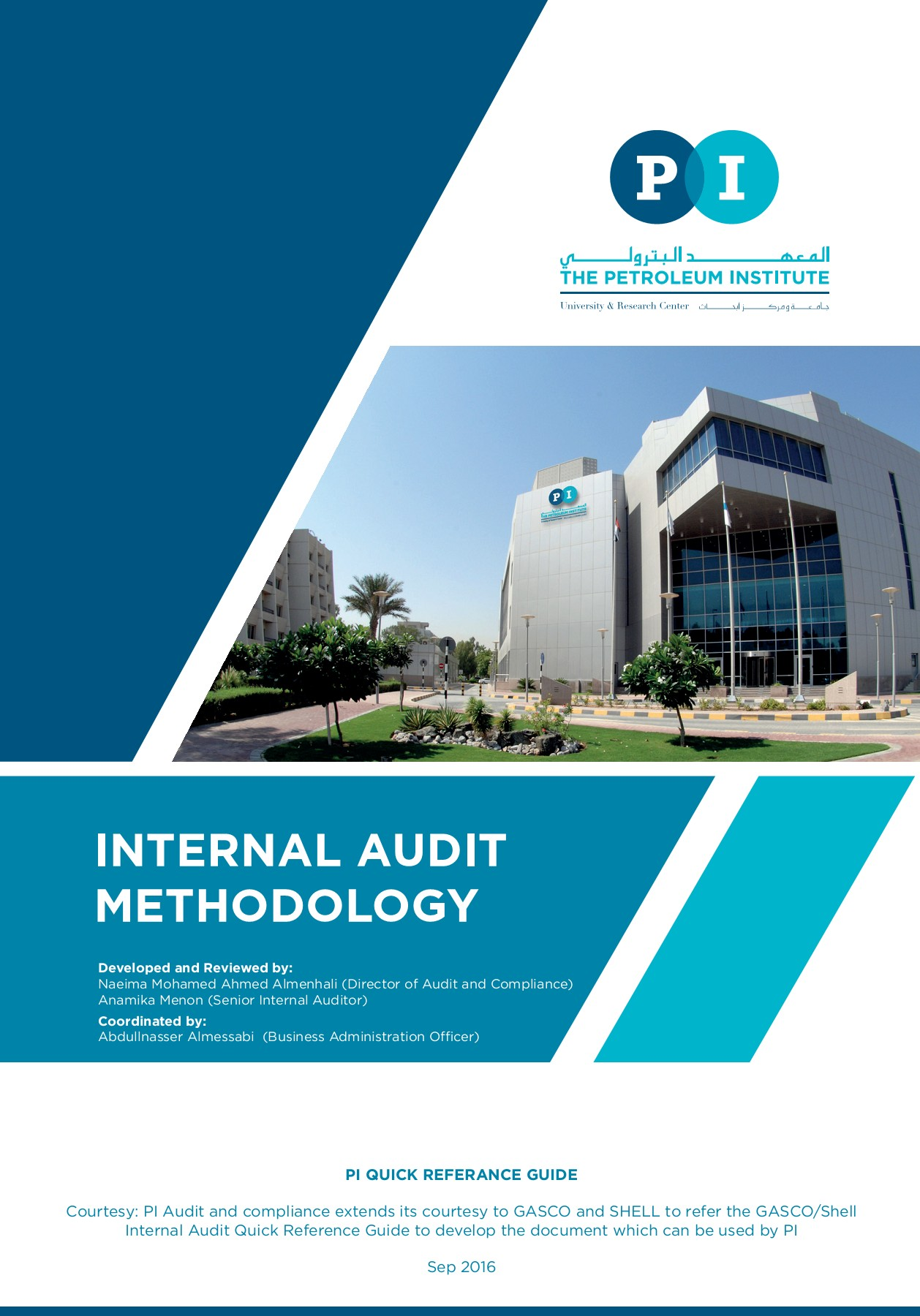 PI Internal Audit Methodology Pages 1 - 30 - Text Version | AnyFlip