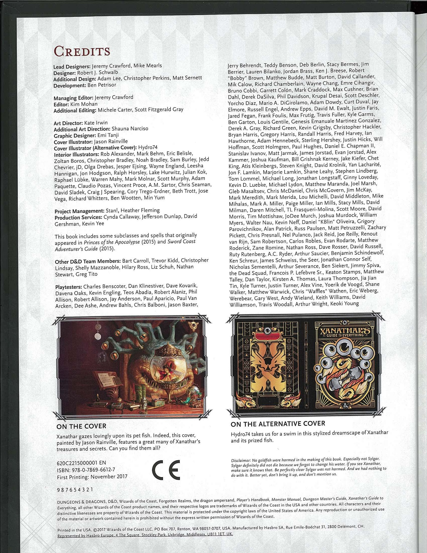 Xanathar's Guide To Everything Pages 151 - 196 - Text