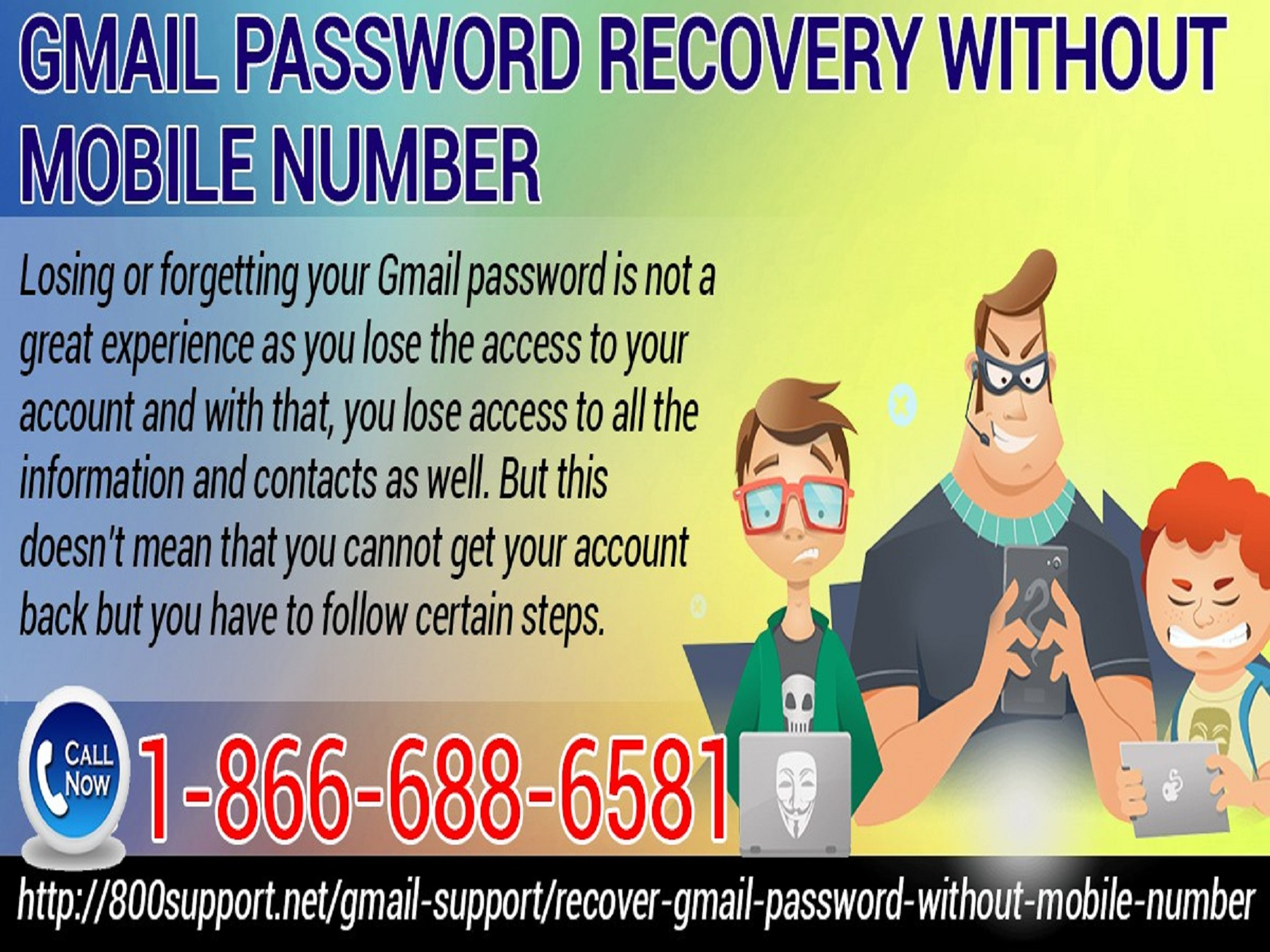 How You Can Recover Gmail Password Without Mobile No