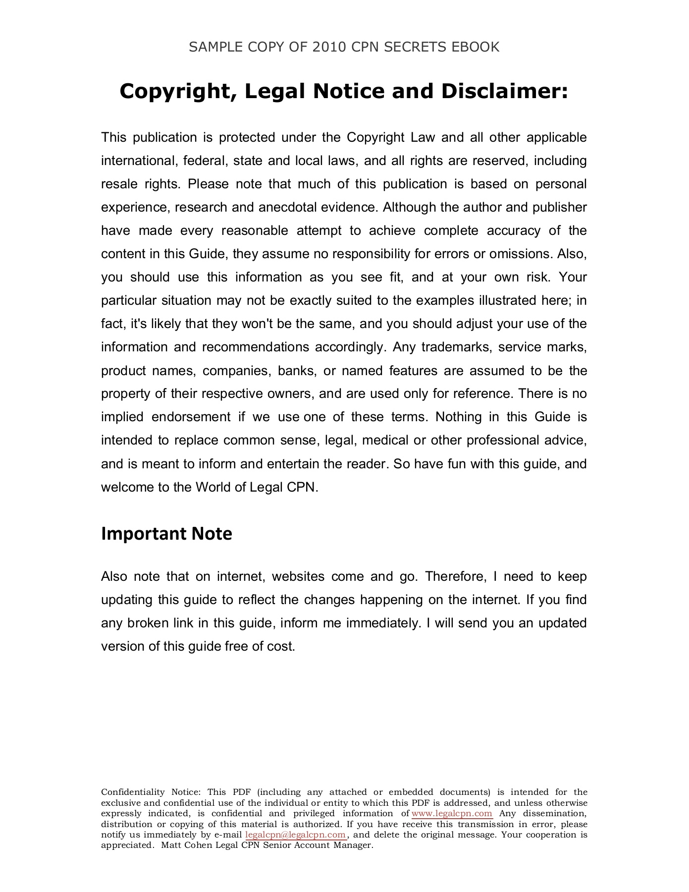 FREE LCPN EBOOK Copyright-3 Pages 1 - 25 - Text Version | AnyFlip
