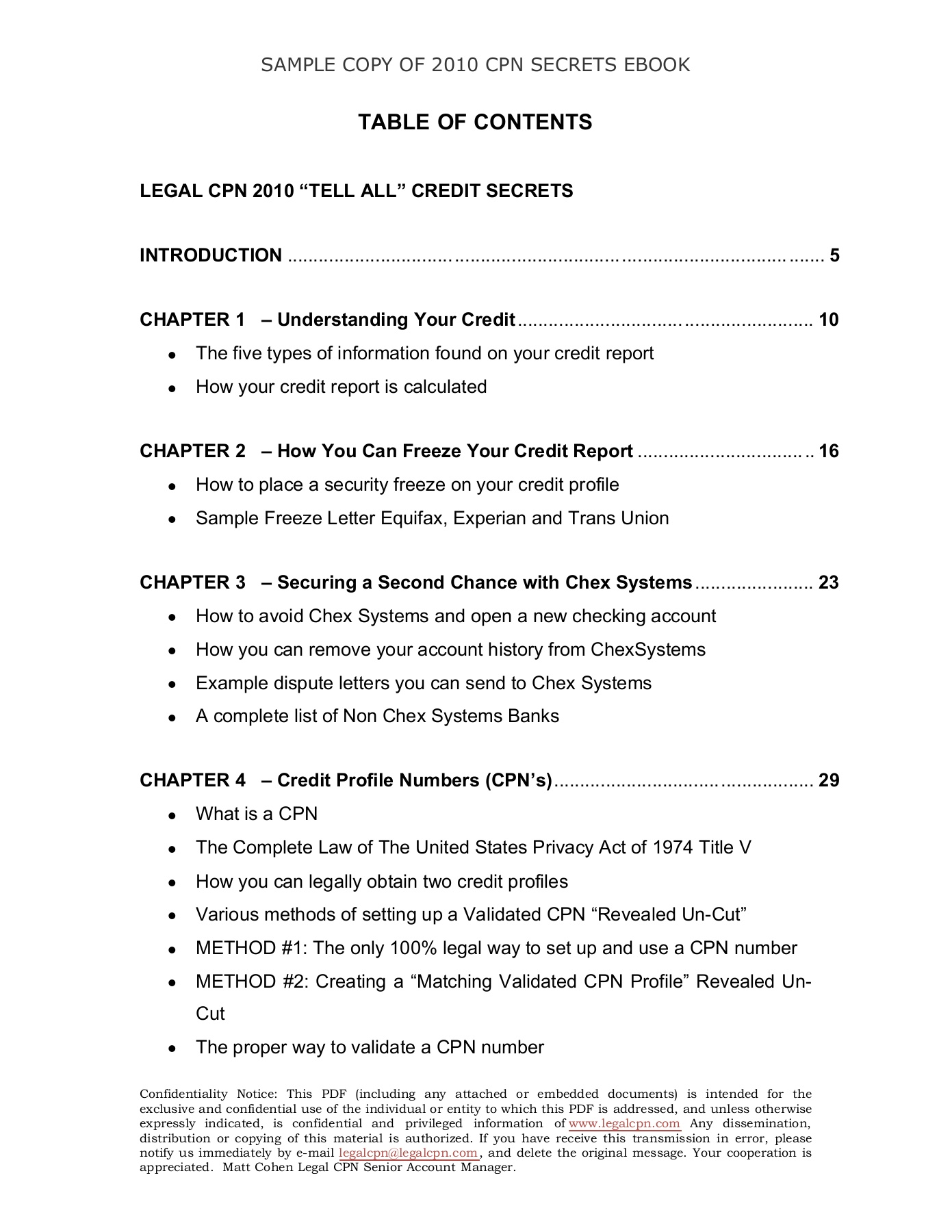 FREE LCPN EBOOK Copyright-3 Pages 1 - 25 - Text Version