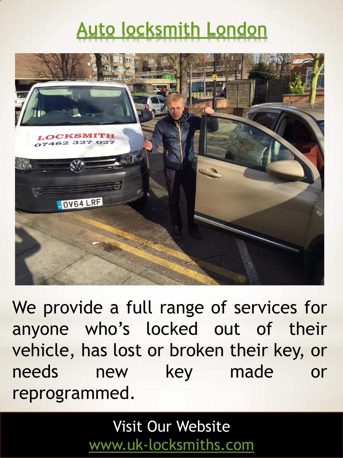 Car Keys Replacement Cost South London | Call - 07462 327 027 | uk
