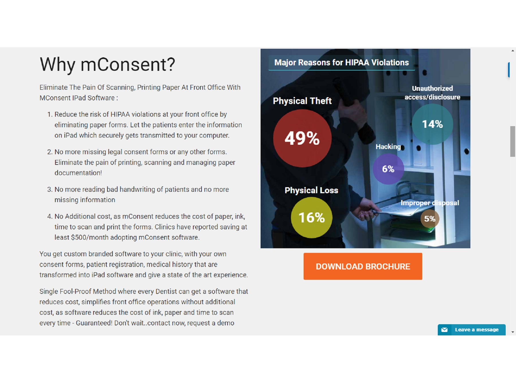 Hipaa Patient Consent Form | Medical History Forms - mConsent