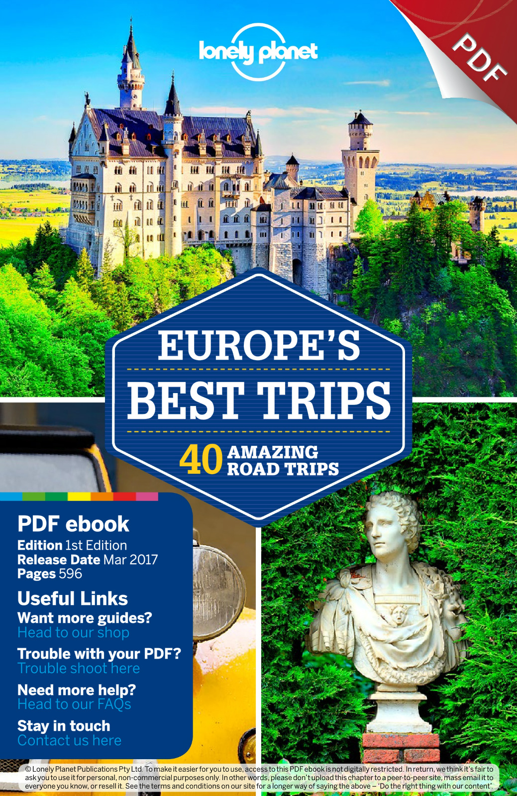 Lonely Planet Europe's Best Trips Travel Guide Flip eBook Pages ...