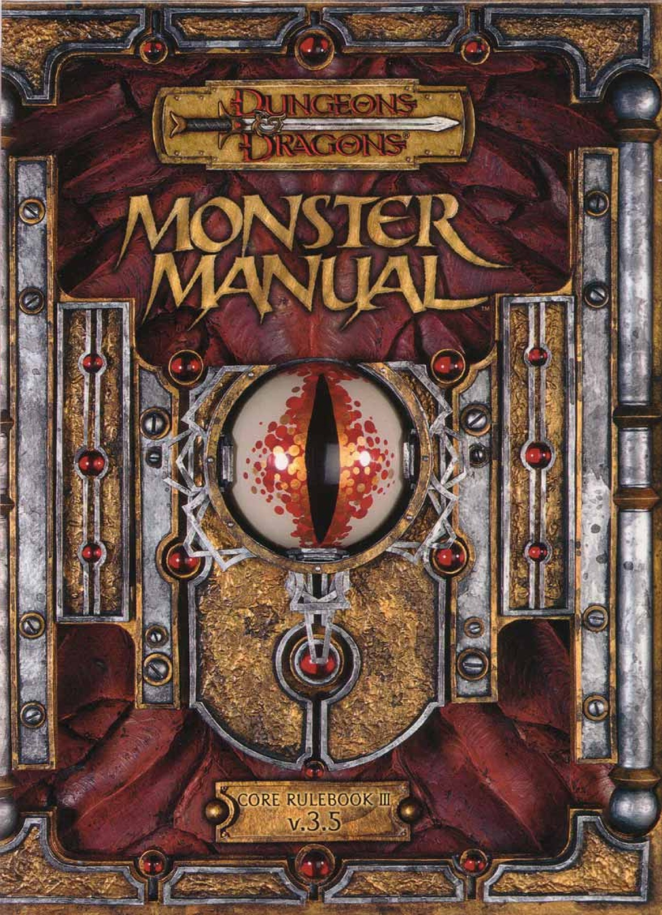 Monster manual (dungeons & dragons 3rd edition) by skip williams.