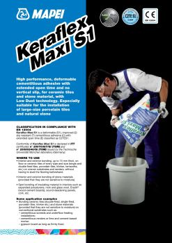 Mapei Adesilex P9 Pages 1 - 4 - Text Version | AnyFlip