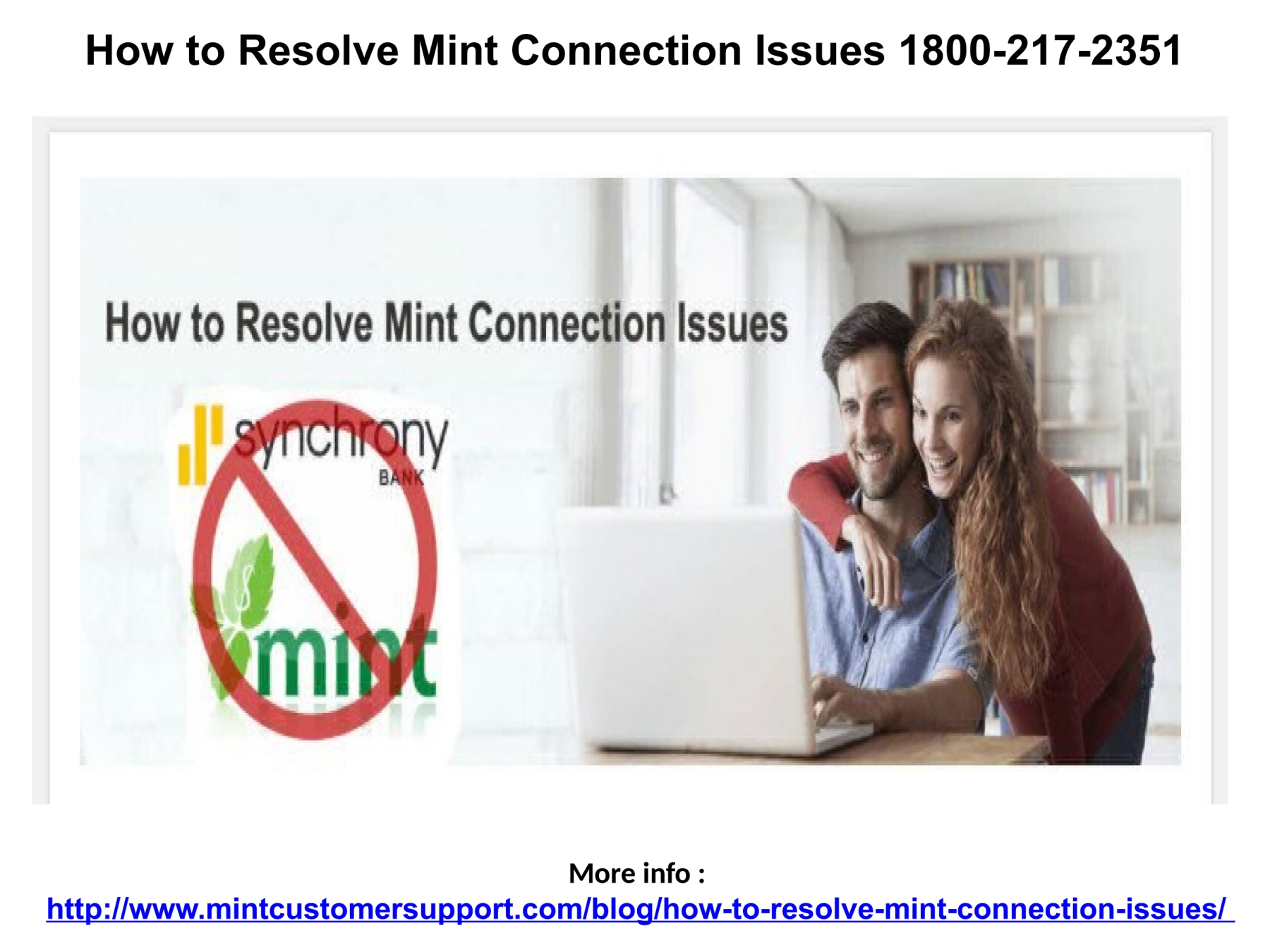 Mint Sync Issues Number 1800-217-2351