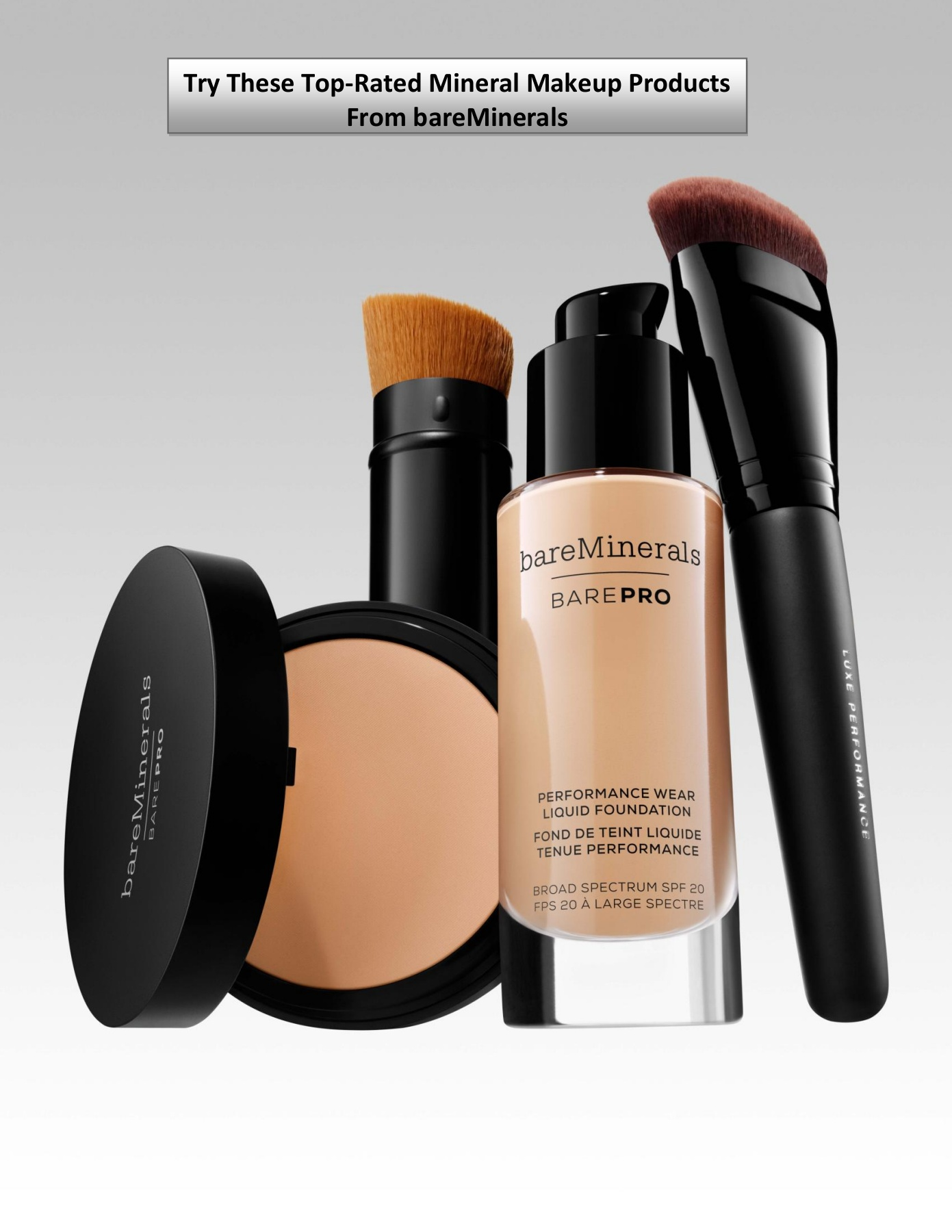 Try These Top Rated Mineral Makeup